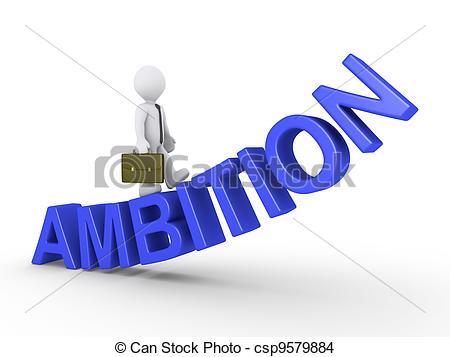 Ambition Clip Art.