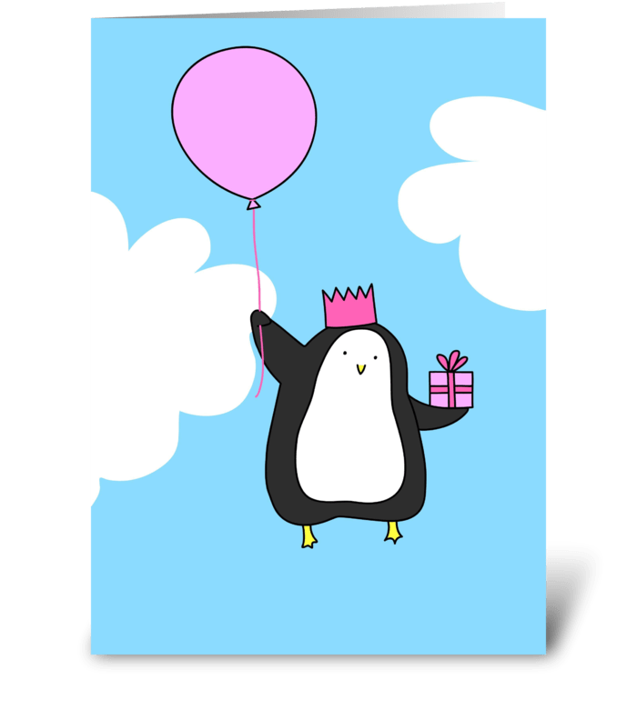 Birthday Penguin.