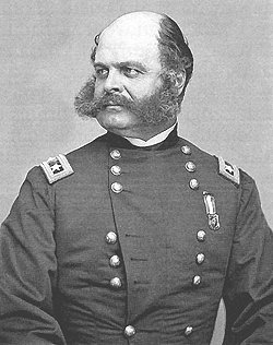 Union General Ambrose Burnside.