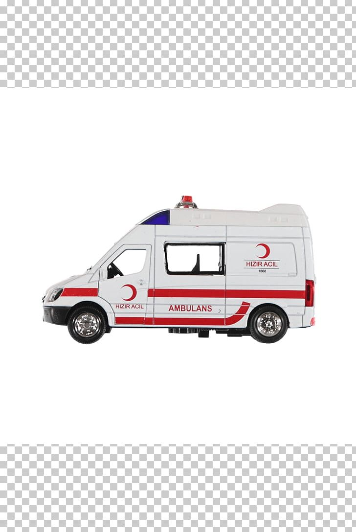Ambulance Emergency Vehicle Toy Işıklı Metal Çekbırak.