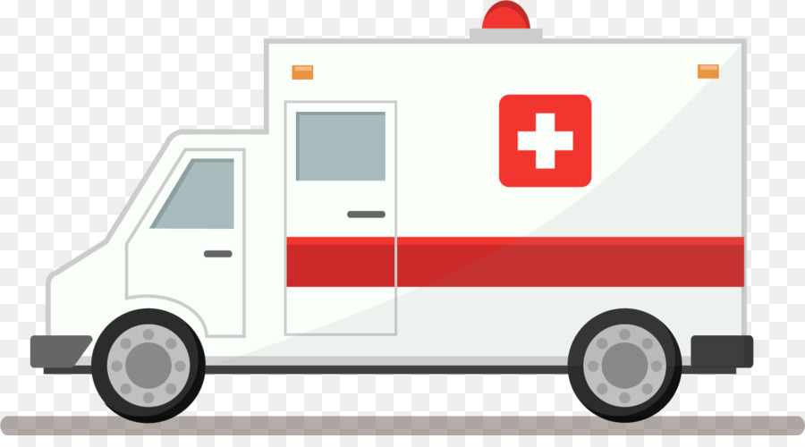 Ambulance Cartoon clipart.
