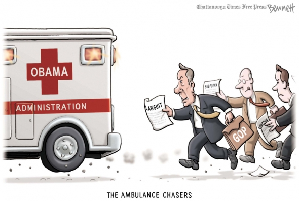 Showing post & media for Ambulance chaser cartoon.
