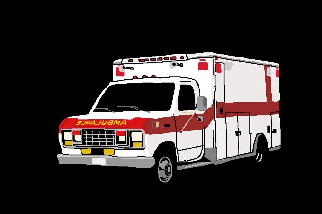 Cartoon Ambulance Clipart.