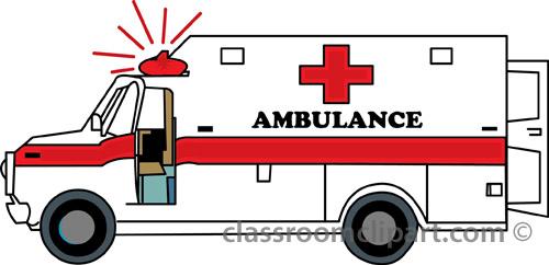 Ambulance Clipart.