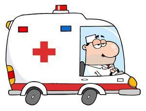 Ambulance clip art.