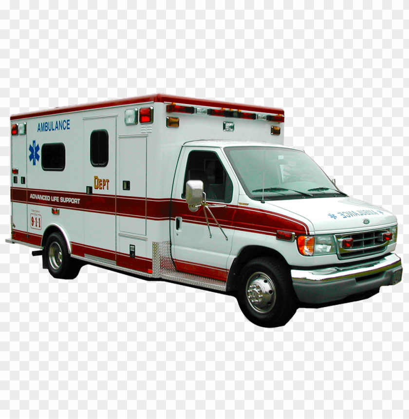 clipart ambulance PNG image with transparent background.