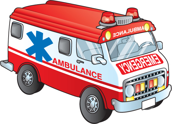 1182 Ambulance free clipart.