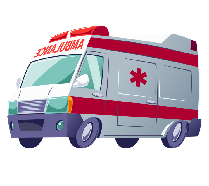 ambulance PNG.