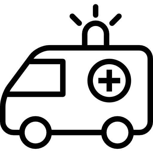 Ambulance Clipart Black And White Png.
