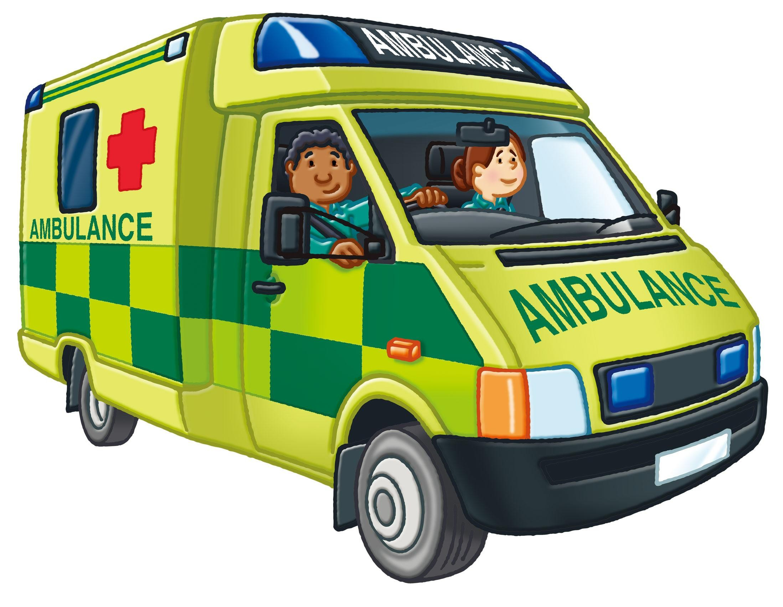 British Ambulance Clipart.
