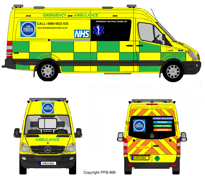 British ambulance clipart 5 » Clipart Station.
