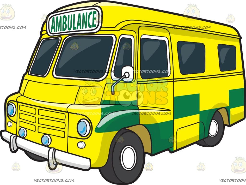 A British ambulance » Clipart Station.