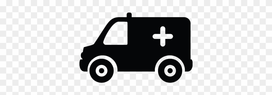 Svg Transparent Library Ambulance Vector Van.