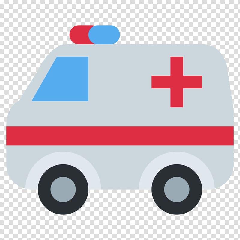 Emoji Ambulance Emergency service Emoticon, ambulance.