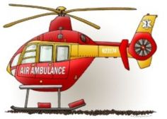 Ems helicopter clipart.