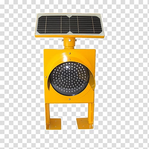 Solar traffic light Solar Panels Light.