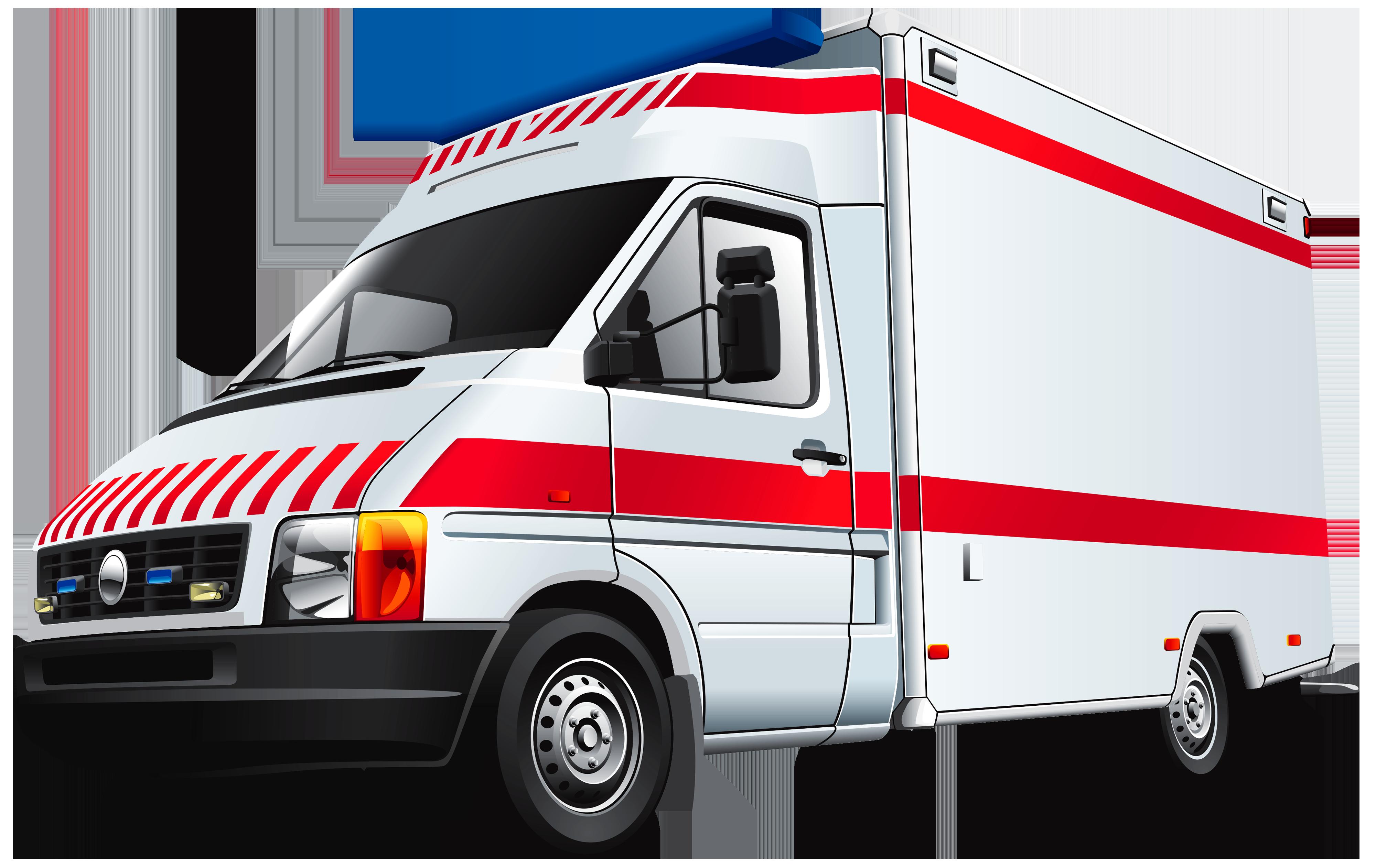 Ambulance PNG Image.