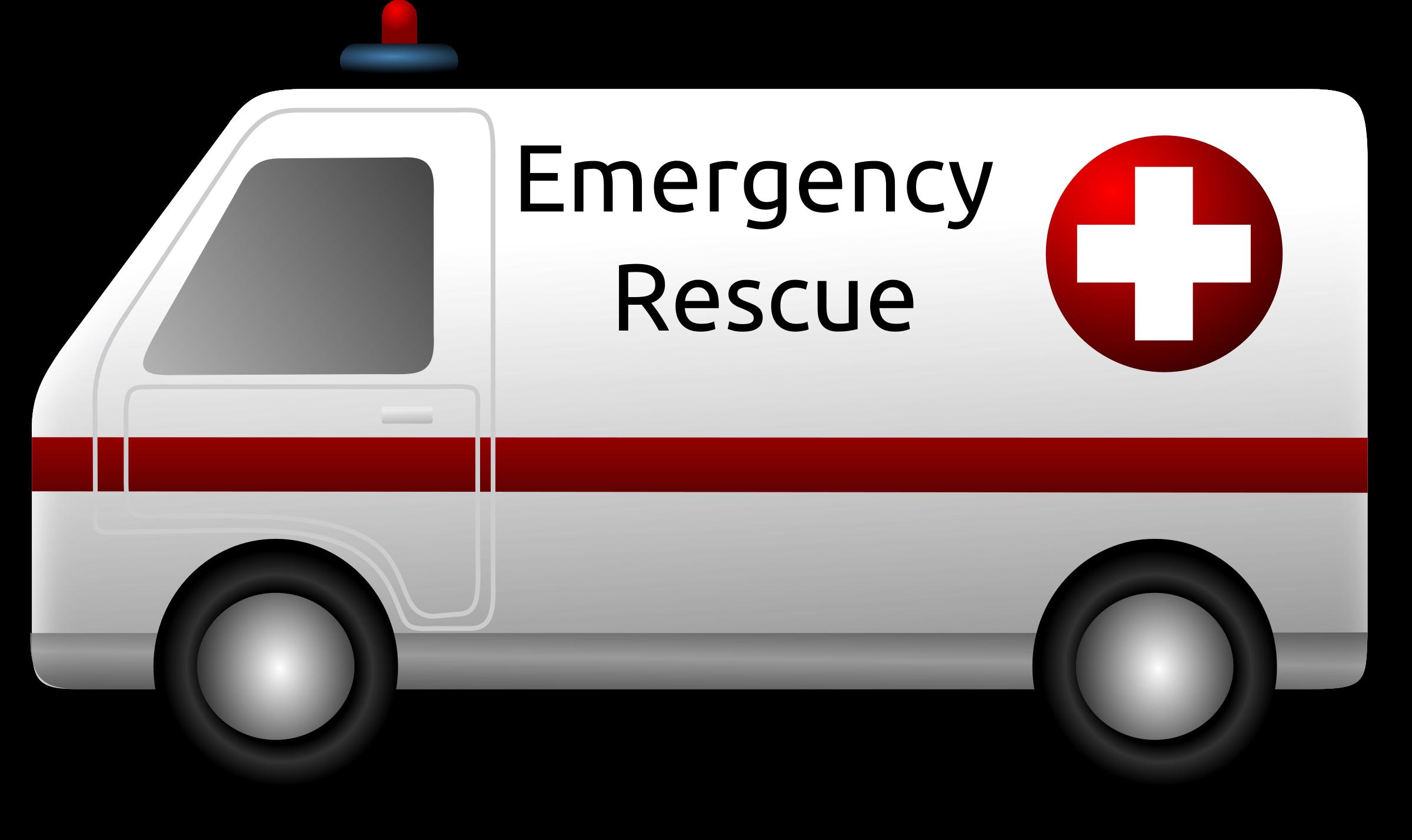 Ambulance PNG Transparent Images.