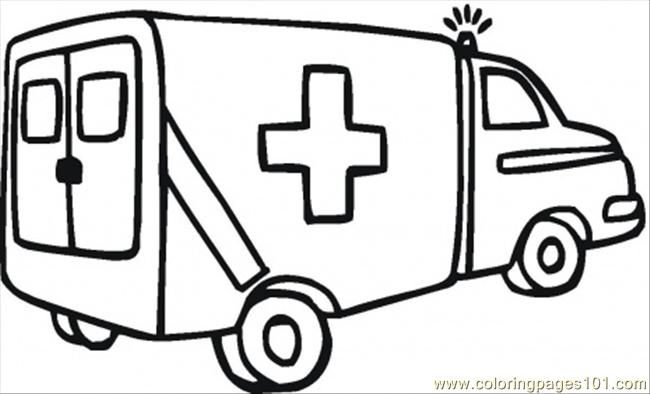 Ambulance clipart 1 » Clipart Station.