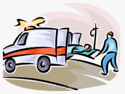 Free Ambulance Clip Art with No Background.