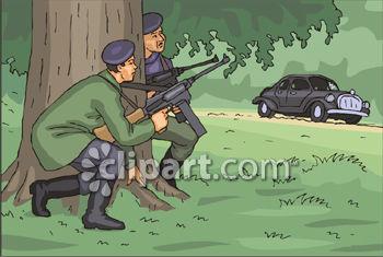 Ambush Clipart.