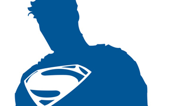 SUPERMAN New Logo Video Report From AMC Clipart.