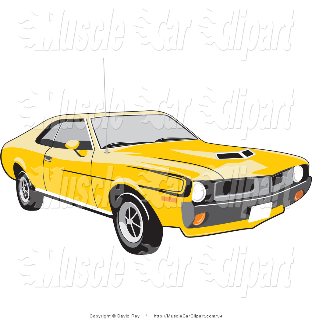 Amc Javelin Muscle Car Muscle Car Clip Art David Rey #Xenqrs.