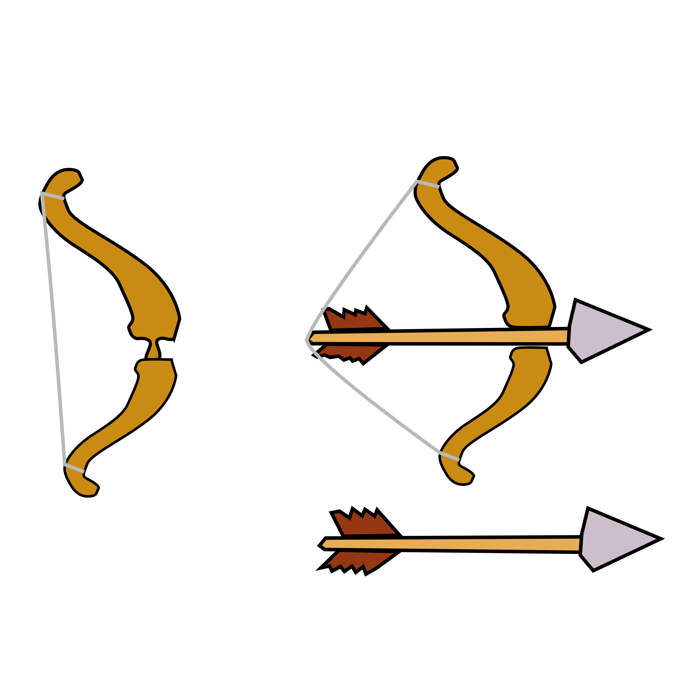 Clipart Bow Arrow.