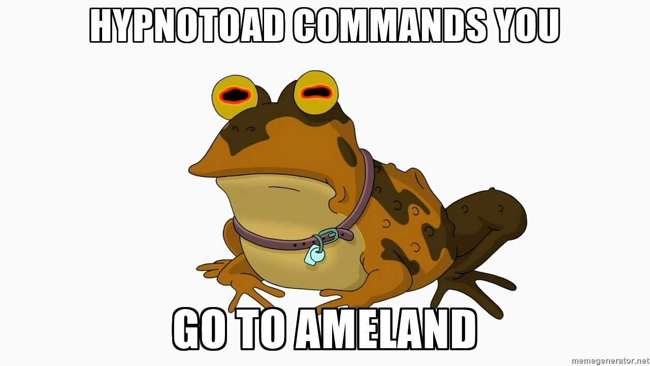 Hypnotoad commands you Go to Ameland.