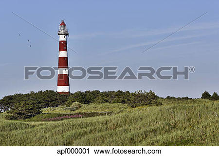 Stock Photography of Netherlands, West Frisian Islands, West.