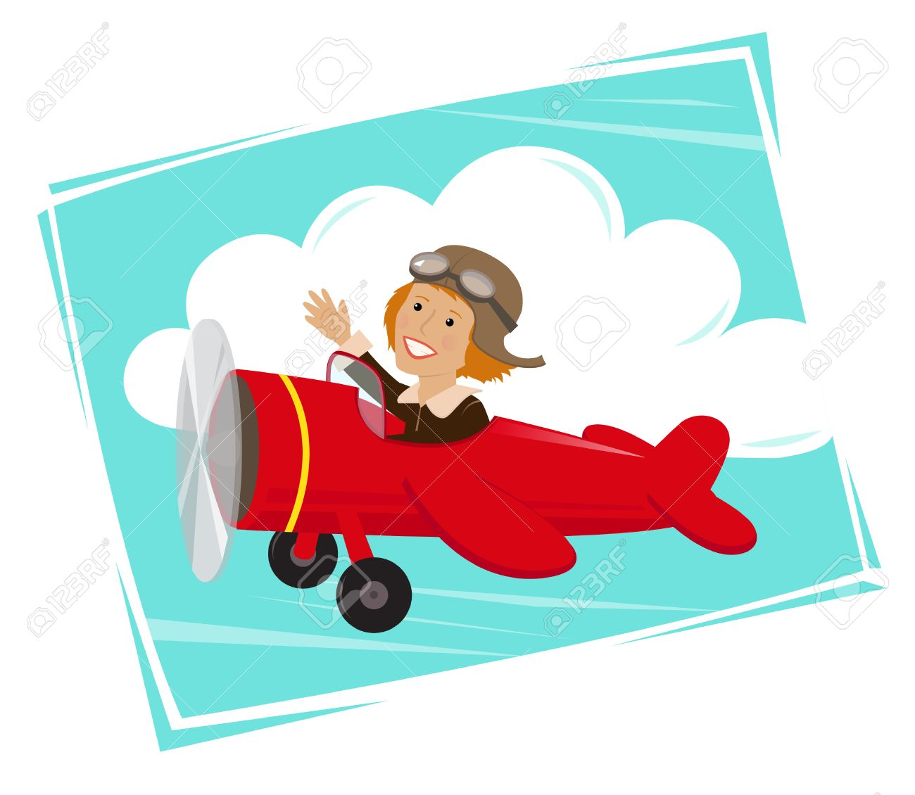 Amelia earhart clipart 2 » Clipart Station.