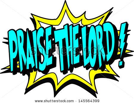 Praise God Clip Art.
