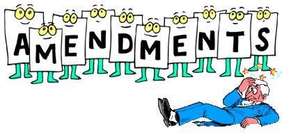 Congress for Kids: [Constitution]: Amendments.
