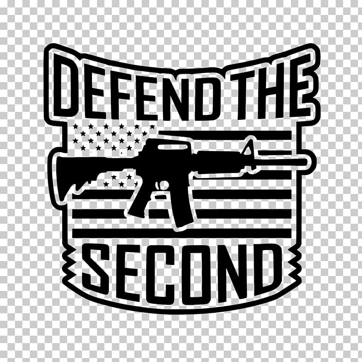 Second Amendment to the United States Constitution Decal T.