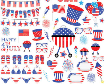 Fourth of july 4th of july clipart clip art america clipart.