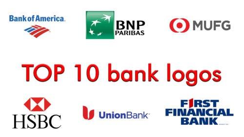 TOP 10 bank logos.