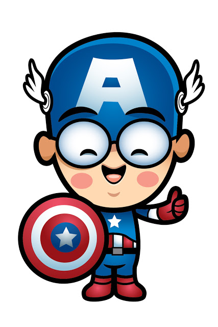 Captain America Clip Art.