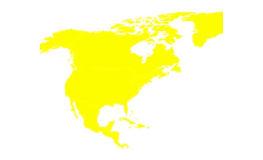 Continent Clipart North America Colored World Map Continents.