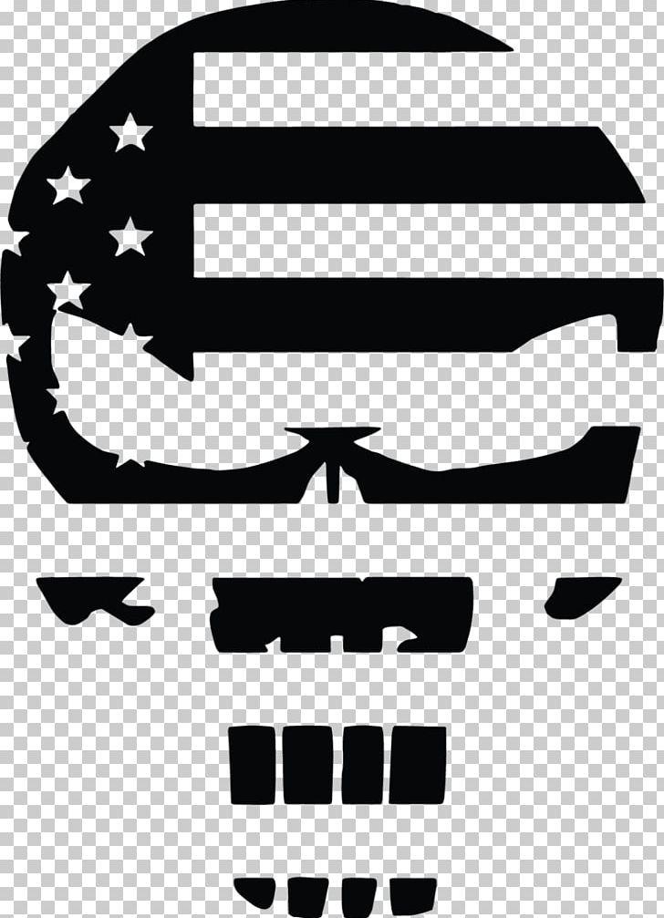 United States Of America Punisher Flag Of The United States.
