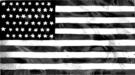 Vintage American Flag Clip Art, American Flag Black And White Free.