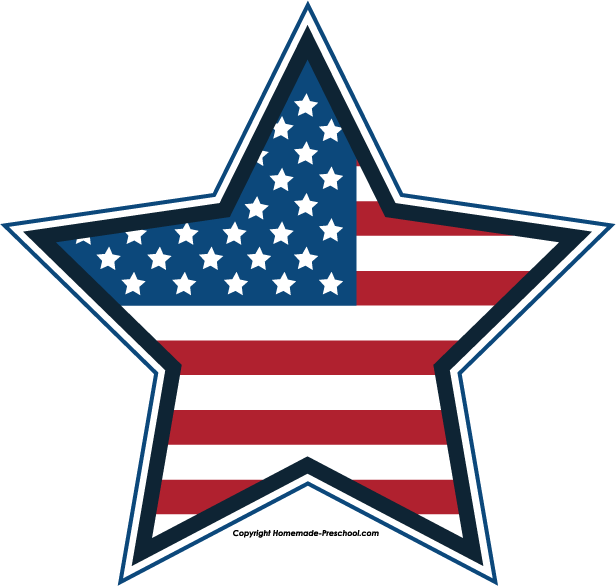 Free July 4th Clipart.
