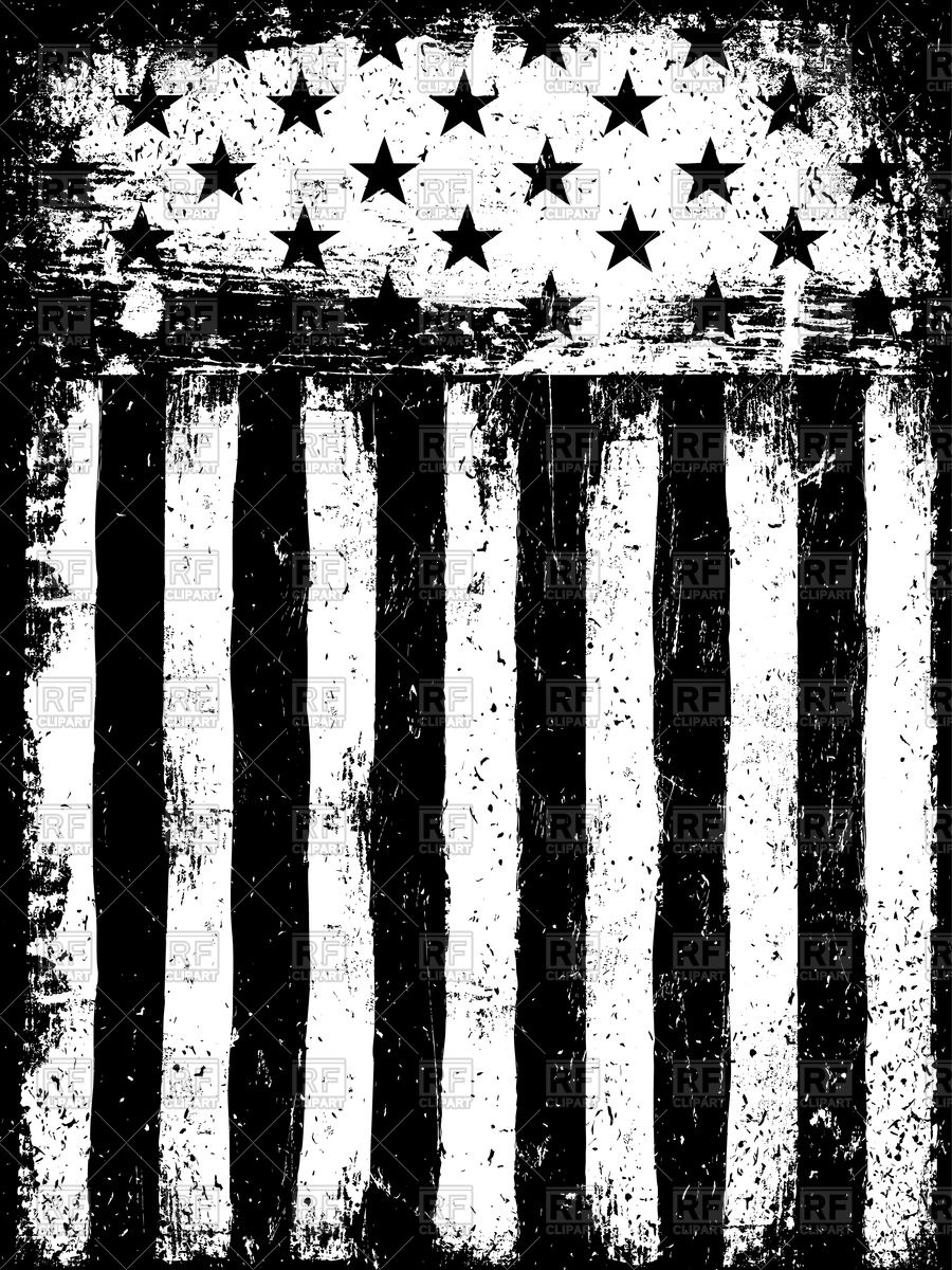 Stars and Stripes American Flag Background Vector Image #109376.