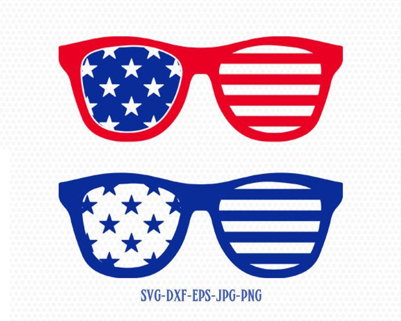 Clipart sunglasses fourth july, Clipart sunglasses fourth.