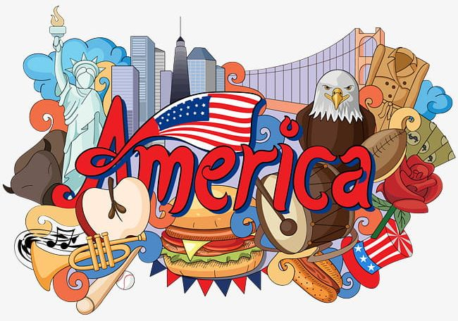 American Flag Architecture Landmarks PNG, Clipart, America.