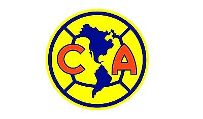 Club America Vinyl DieCut Sticker Decal Logo Soccer Liga MX Mexico 4  Stickers.