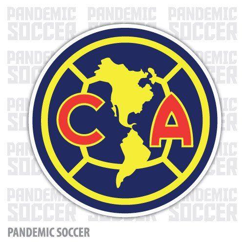 Aguilas America Mexico Vinyl Sticker Decal Calcomania.