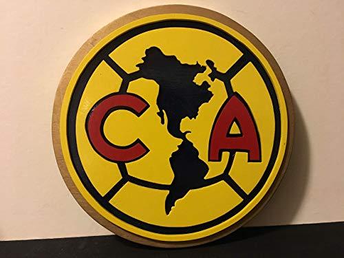 Amazon.com: Club America Soccer Wood Sign: Handmade.