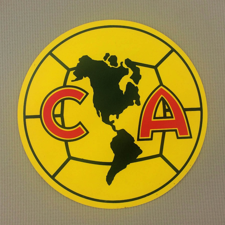 Club America Circular Decal.
