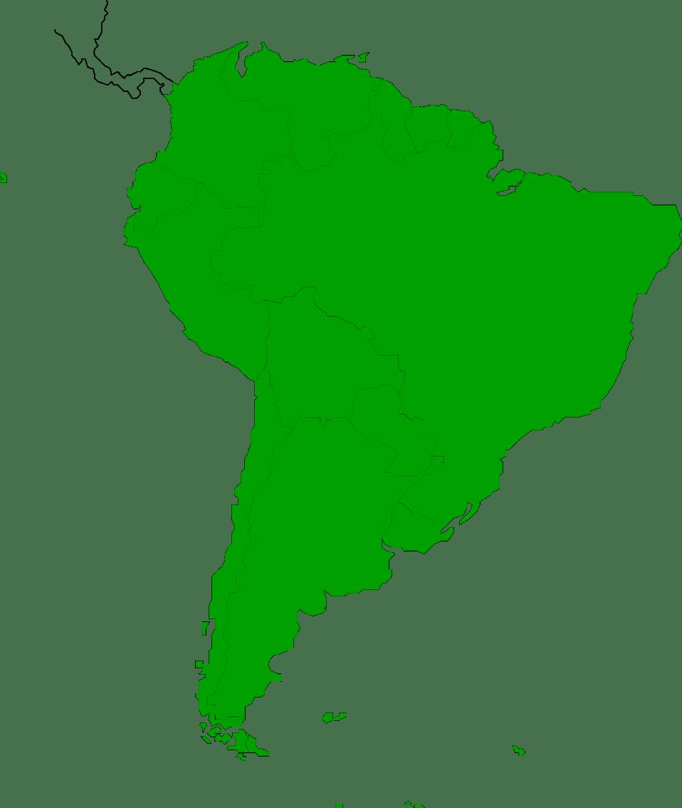 Latin america map clipart » Clipart Portal.