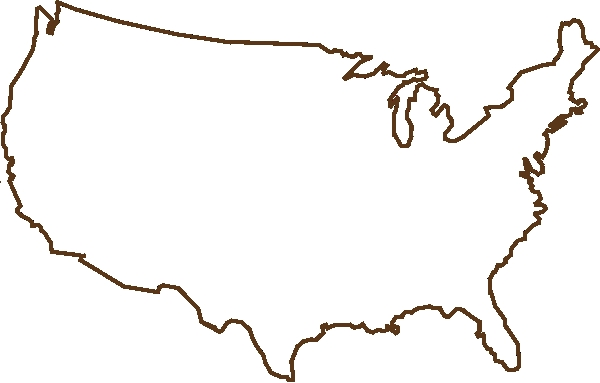 Blank Map Of The United States Of America photo free clipart united.